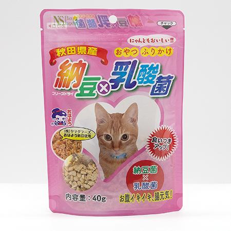 納豆×乳酸菌(猫用)40g