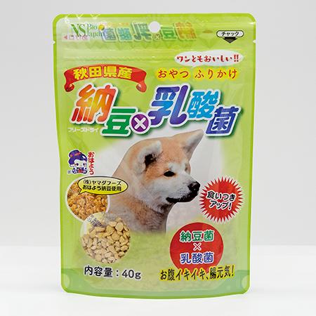 納豆×乳酸菌(犬用)40g